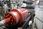 חריטת קולקטור למנוע זרם ישר
